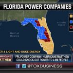 "Fox Business On Twitter: ""just In: As Many As 2.5M Residents Likely   Florida Power Companies Map"