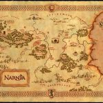 Free Chronicles Of Narnia Resource Unit | Map Skills | Map Of Narnia   Printable Map Of Narnia