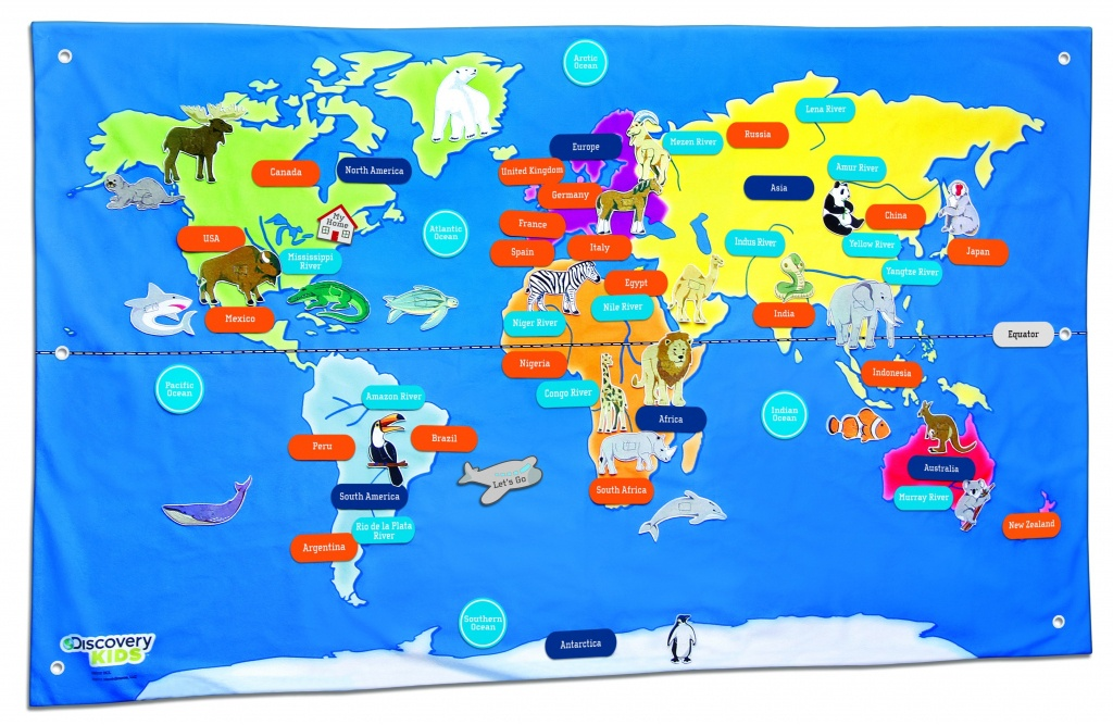 Free Country Maps For Kids A Ordable Printable World Map With - Free Printable World Map For Kids