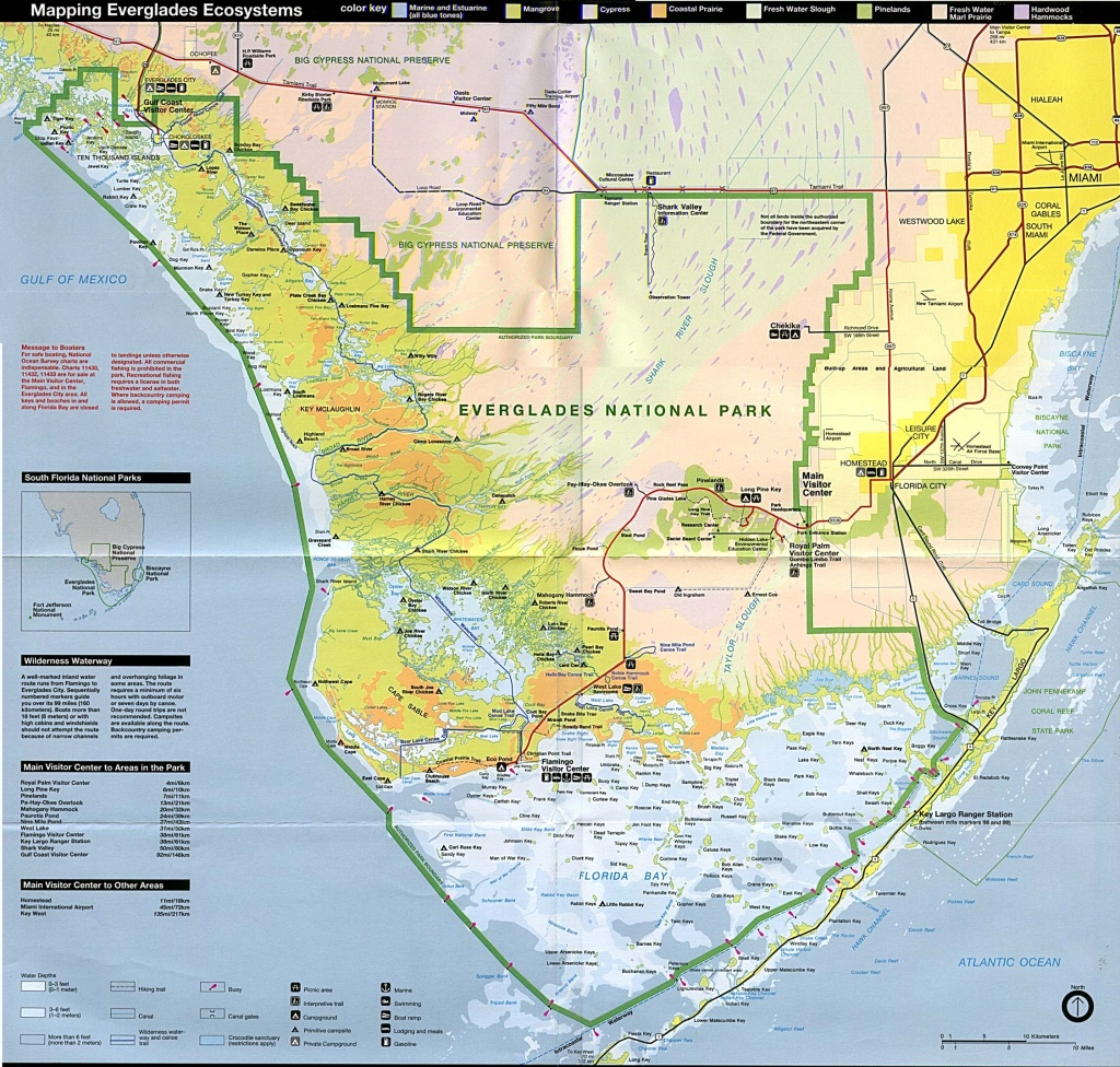 Free Download Florida National Park Maps - National Parks In Florida Map