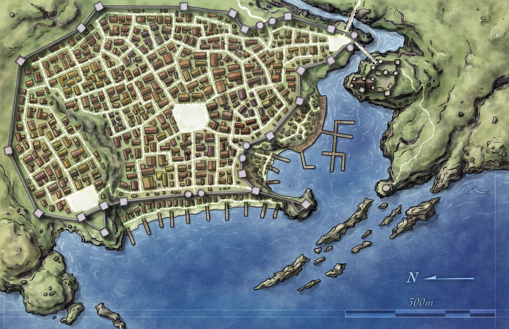 Free Maps - Fantastic Maps - D&d Printable Maps