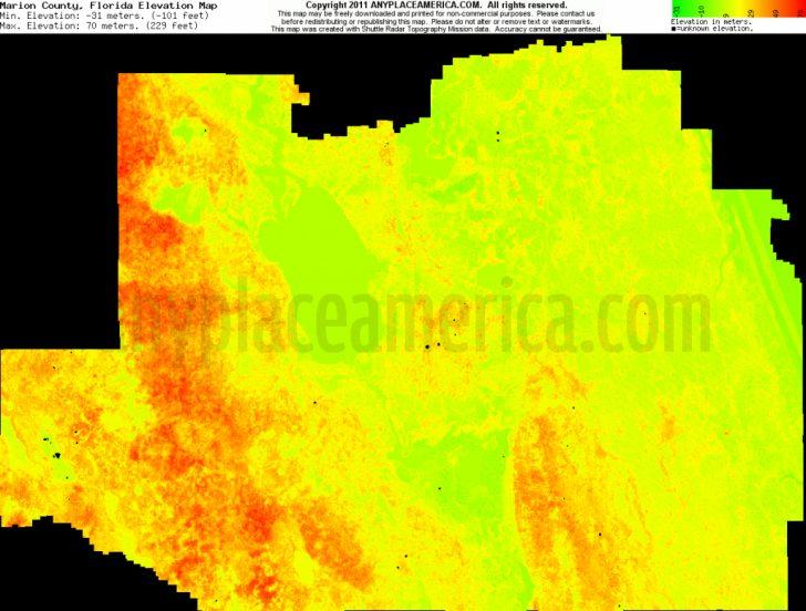 Florida Topographic Map Pdf