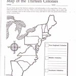 Free Printable 13 Colonies Map … | Activities | 7Th G…   Map Of The Thirteen Colonies Printable
