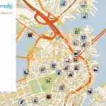 Free Printable Map Of Boston, Ma Attractions. | Free Tourist Maps   Freedom Trail Map Printable
