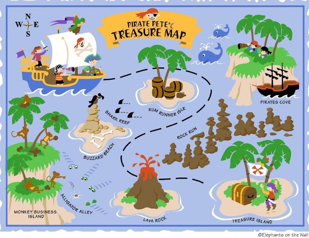 Free Printable Pirate Treasure Map - Google Search | Boy Pirates - Printable Pirate Map