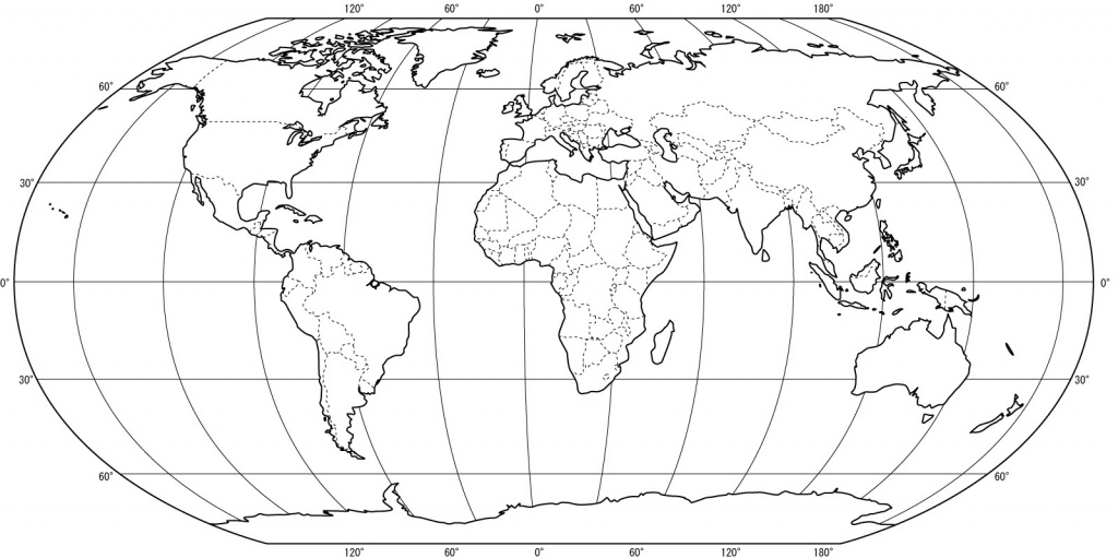 Free Printable World Map Coloring Pages For Kids - Best Coloring - Coloring World Map Printable