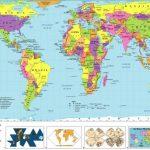 Free Printable World Map | D1Softball   8X10 Printable World Map