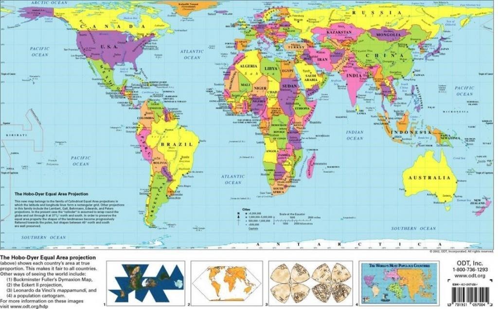 Free Printable World Map | D1Softball - Free Printable World Map For Kids