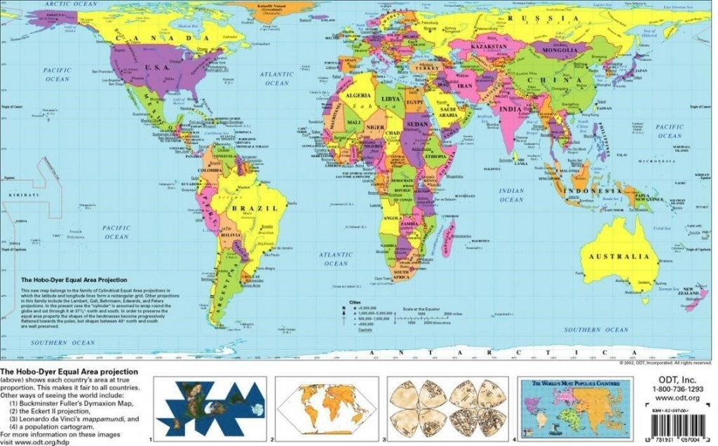 Free Printable World Map | D1Softball - Free Printable World Map Images