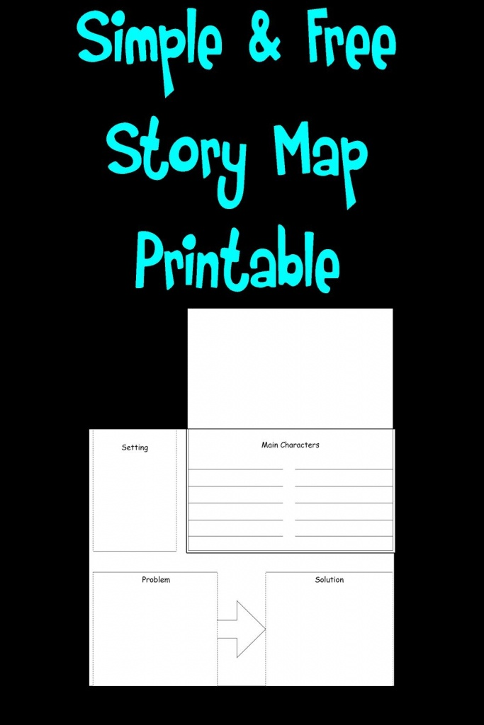 Free Simple Story Map Printable! | Teaching | Simple Stories, First - Printable Story Map For Kindergarten
