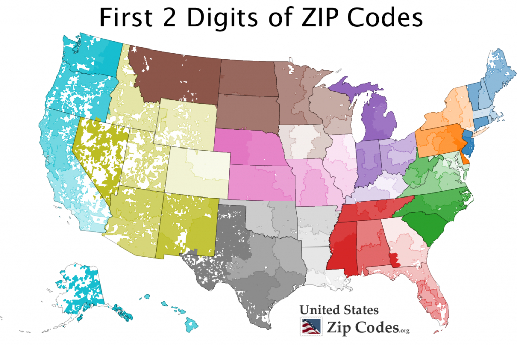 Free Zip Code Map, Zip Code Lookup, And Zip Code List - California Zip Code Map Free