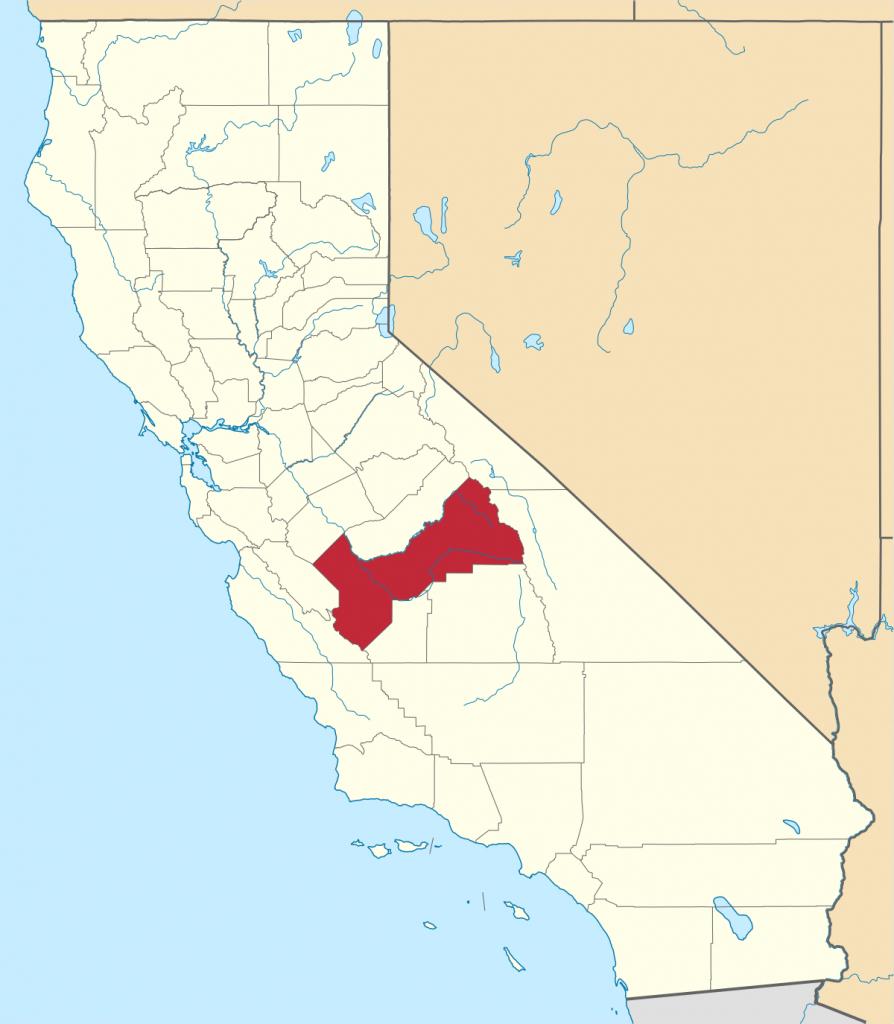 Fresno County, California - Wikipedia - Fresno California Google Maps