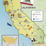 From The Golden Gate To The Beaches Of Socal, Show Your Kids   California Map For Kids