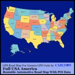 Full Usa America For Use With Garmin Gps/sat Nav Map Gps New Maps   Sat Nav With Florida Maps