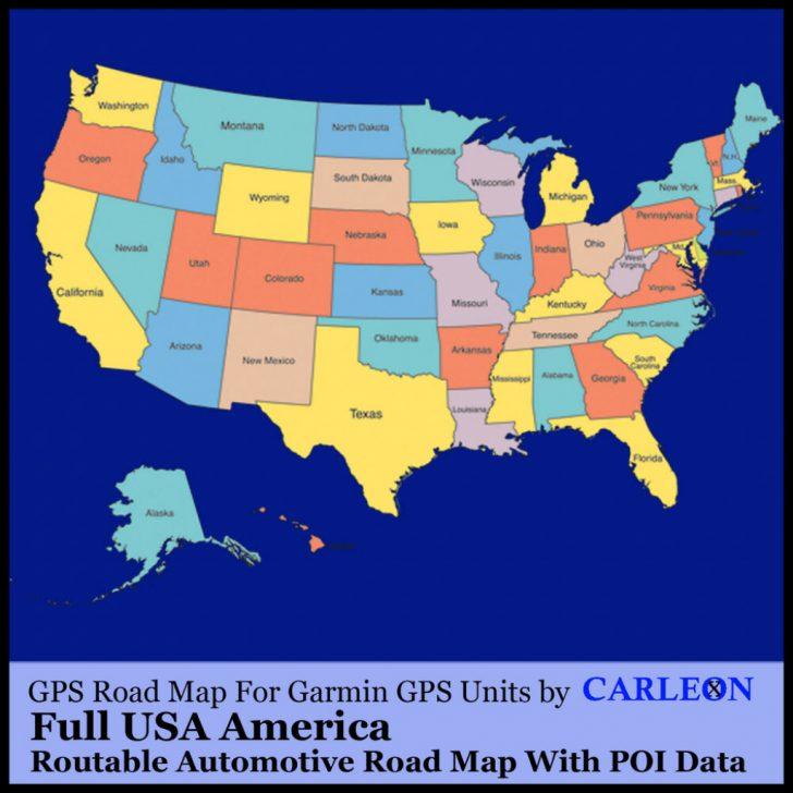 Sat Nav With Florida Maps