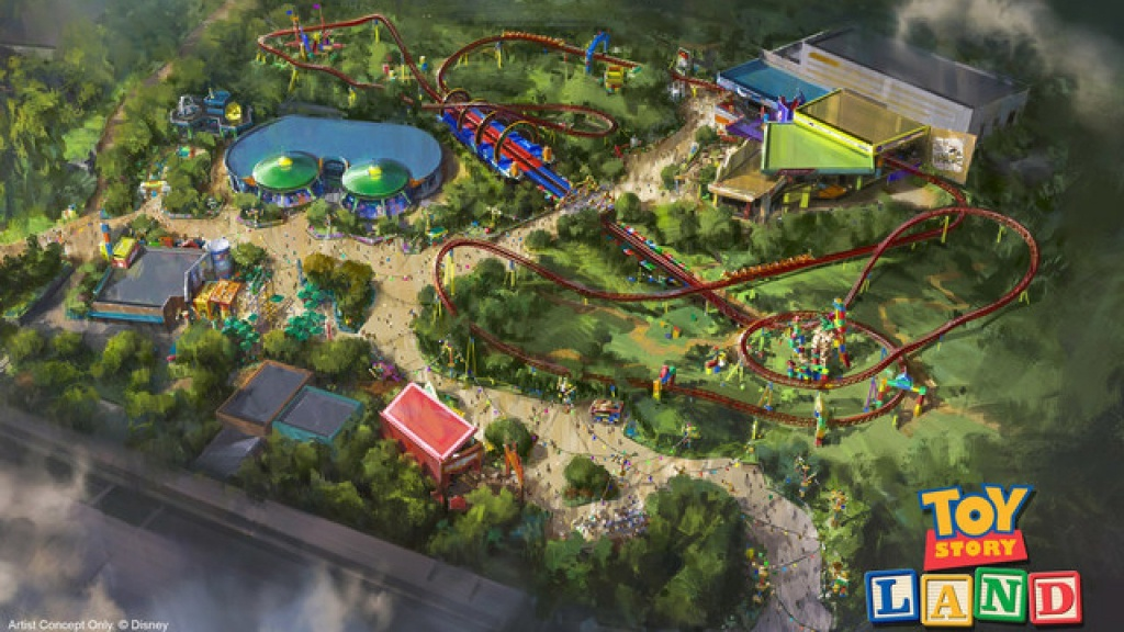 Fun Facts About The All-New 'toy Story Land' At Disney's Hollywood - Toy Story Land Florida Map