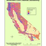 G350 Ewing Project   Mountain Lions In California Map