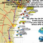 Ga Dnr Offshore Reefs Map « Guide To Coastal Georgia Fishing Spots   Florida Fishing Reef Map