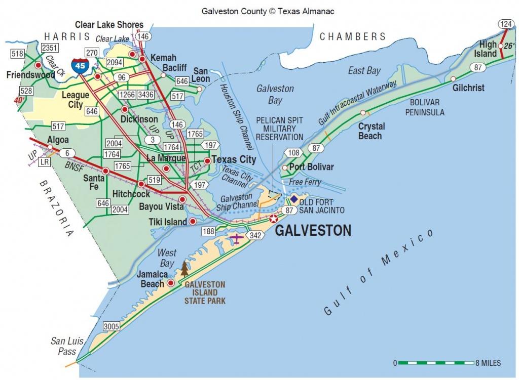 Galveston County   The Handbook Of Texas Online  Texas State - Texas Gulf Coast Shipwrecks Map