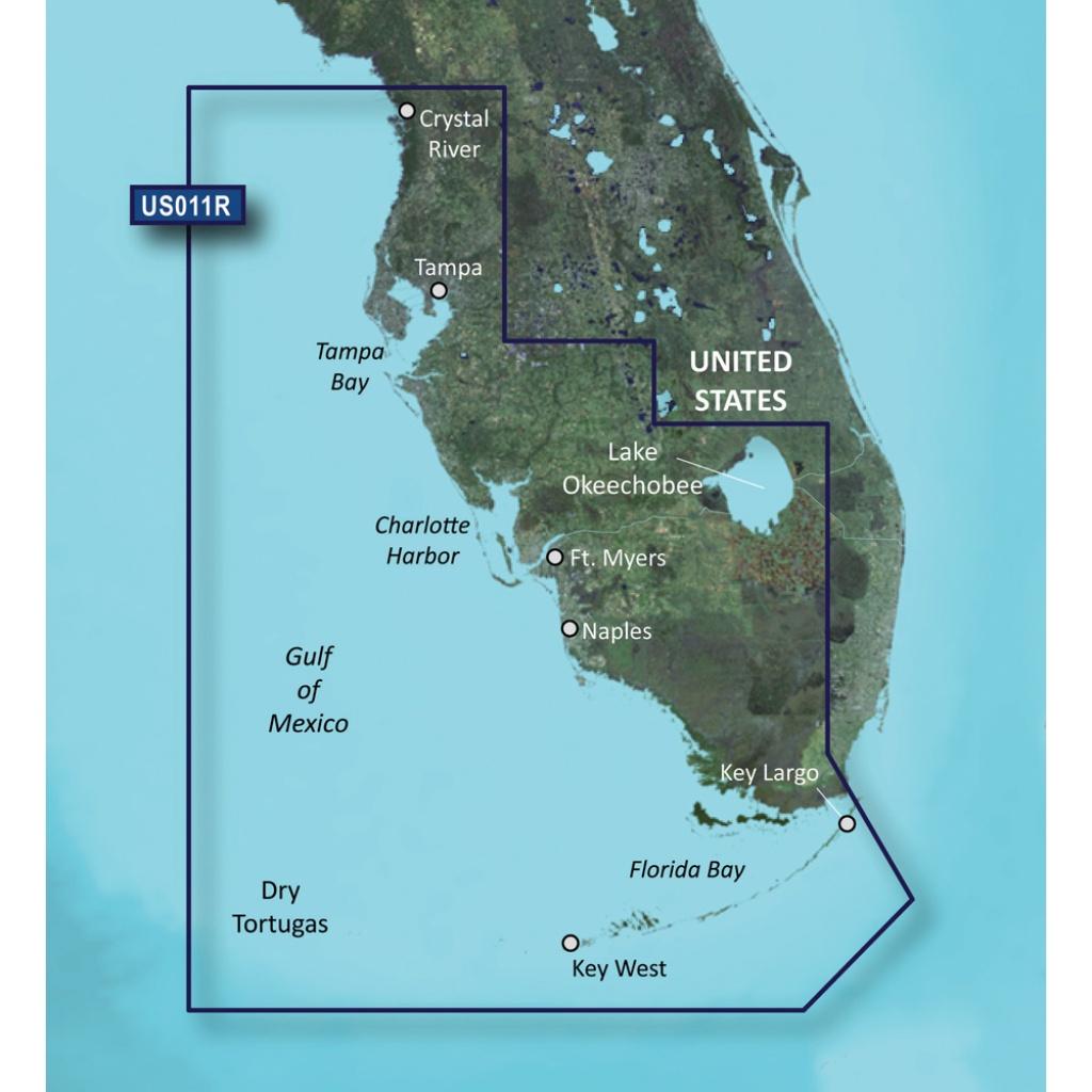 Garmin Bluechart® G3 Vision® Hd - Vus011R - Southwest Florida - Garmin Florida Map