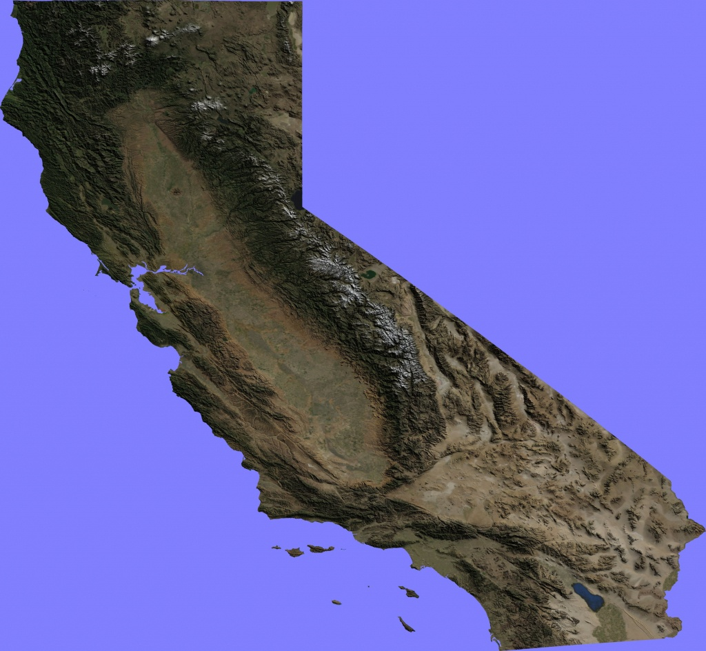 Gelib On Reddit - California Topographic Map Elevations