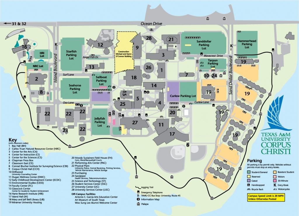 General Information - Texas A&m University Corpus Christi - Acalog Acms™ - Texas A&m Housing Map
