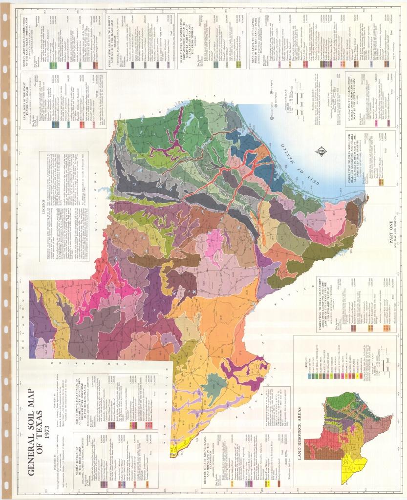 General Soil Map Of Texas (Sheet No. 1) - Esdac - European Commission - Texas Soil Map
