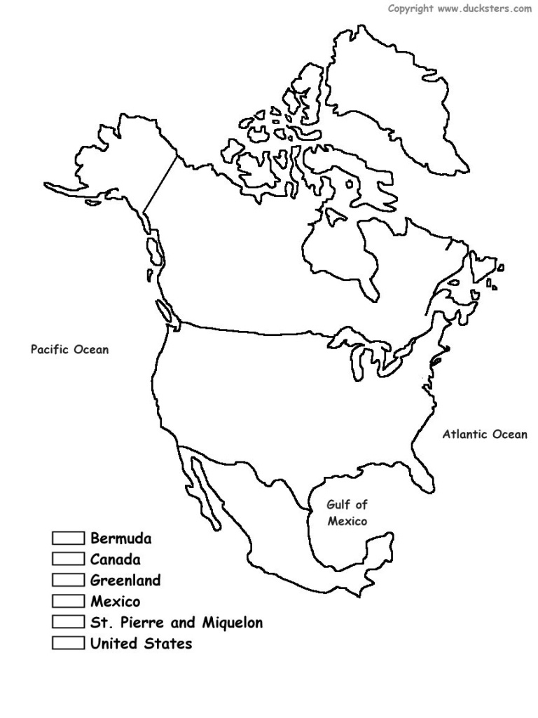 Geography Blog Printable Maps Of North America And A Blank Map - Printable Map Of Greenland