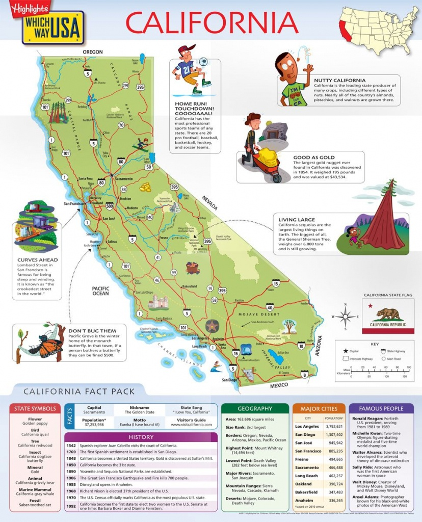 Geography Books For Kids With Usa Puzzles | Which Way Usa | For My - California Map For Kids