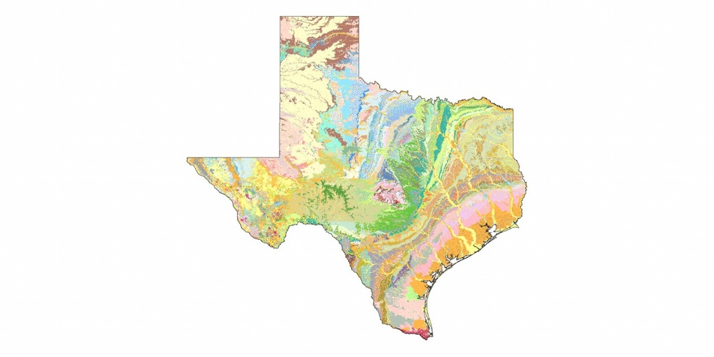 Geologic Database Of Texas | Tnris - Texas Natural Resources - Texas Geological Survey Maps