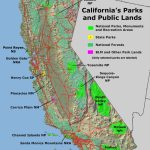 Geology Cafe   California Public Lands Map