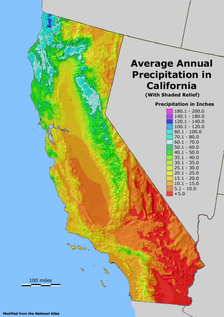 Geology Cafe - California Temperature Map Today