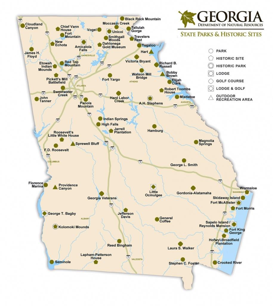 Georgia State Maps | Usa | Maps Of Georgia (Ga) - Georgia State Map Printable