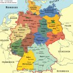 Germany Maps | Maps Of Germany   Free Printable Map Of Germany