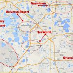 Getting Around The Orlando Theme Parks   The Trusted Traveller   Map Of Theme Parks In Florida