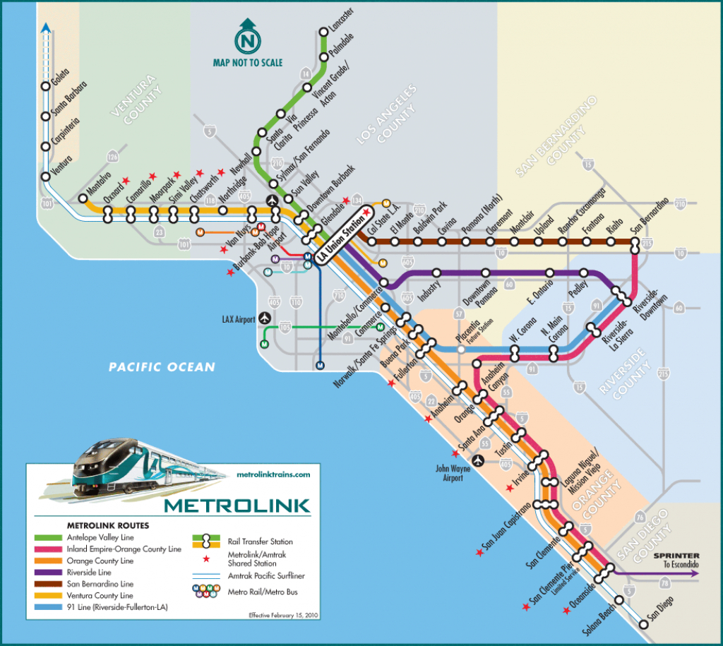 Getting To Little Tokyo | Soha Conference - Amtrak Map California