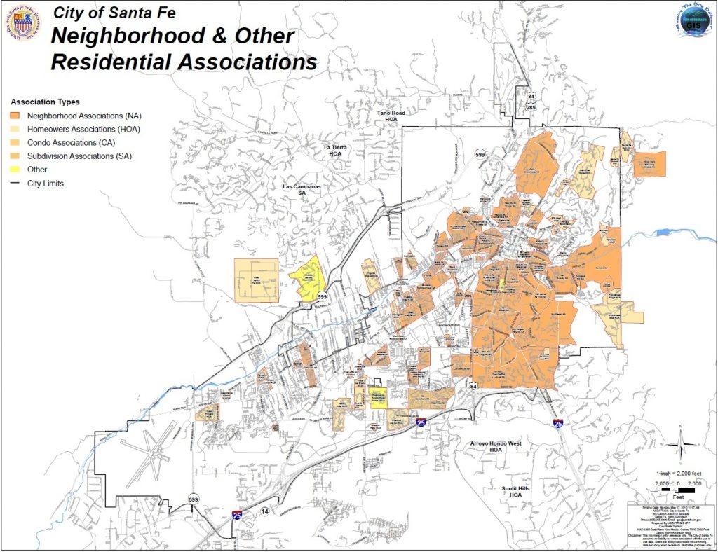 Gis   City Of Santa Fe, New Mexico - Map Of Texas Showing Santa Fe - Map Of Texas Showing Santa Fe