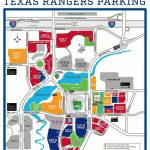 Globe Life Park In Arlington – Where To Park, Eat, And Get Cheap Tickets   Texas Rangers Parking Map 2018
