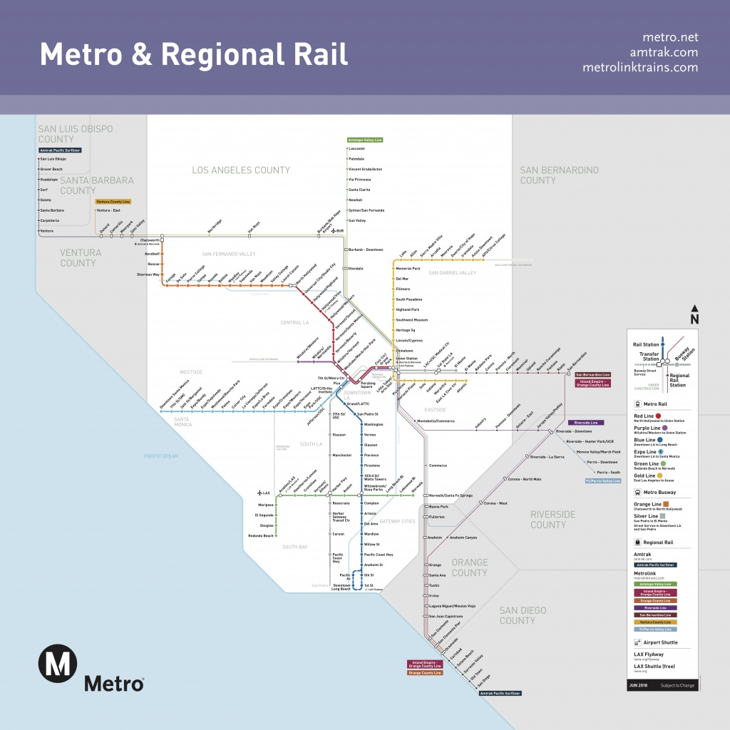 Go Metro And Metrolink To Watch Rams Hogtie Cowboys On Saturday - Southern California Metrolink Map