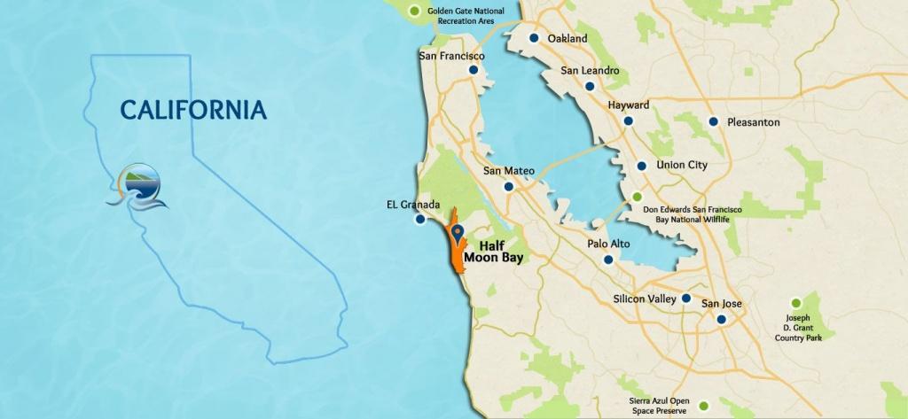 Goaltaca   Half Moon Bay, California   #goaltaca   Half Moon Bay - Half Moon Bay California Map