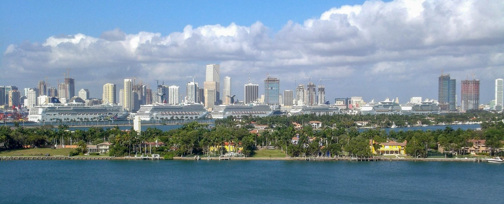 Google Map Of Miami, Florida, Usa - Nations Online Project - Google Maps Miami Florida