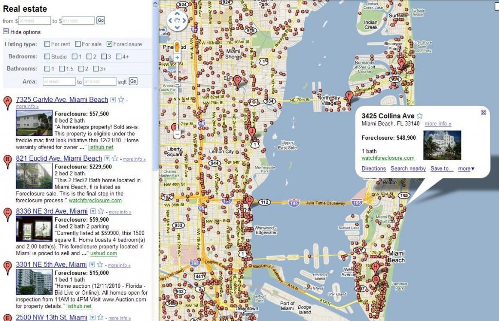 Google Map Usa Miami | World Map - Google Maps Miami Florida