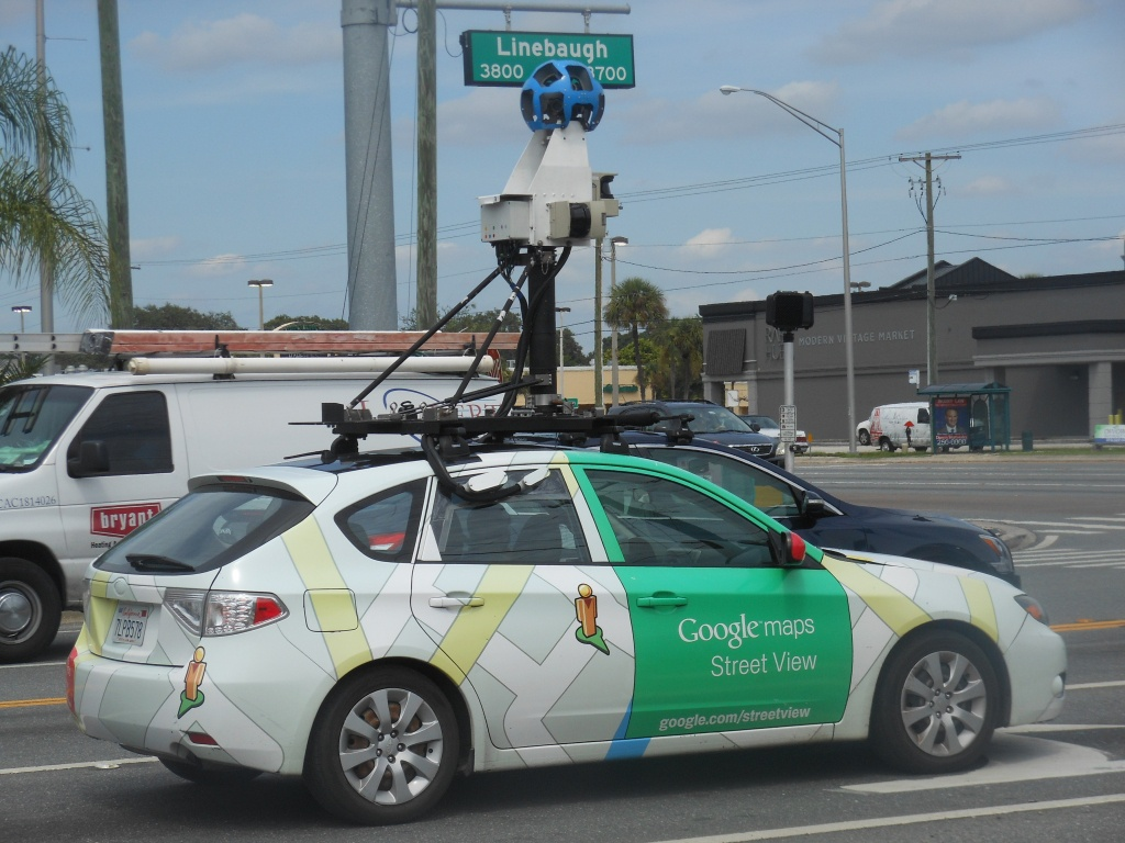 Google Maps Car In Tampa Area | News Blog - Google Maps Street View Houston Texas