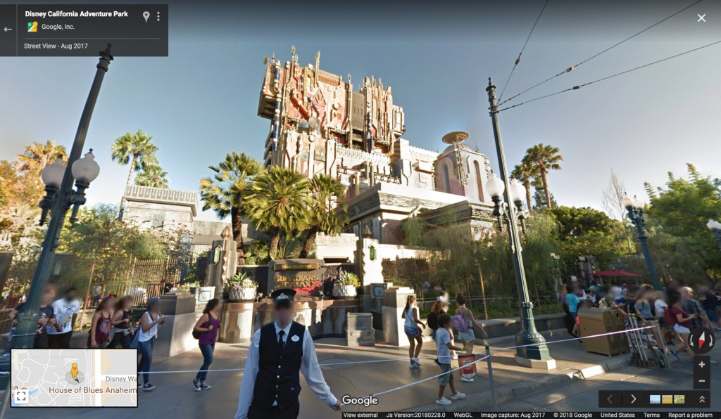 Google Maps Now Has 11 Disney Parks On Street View | Travel + Leisure - Google Maps Orlando Florida Street View
