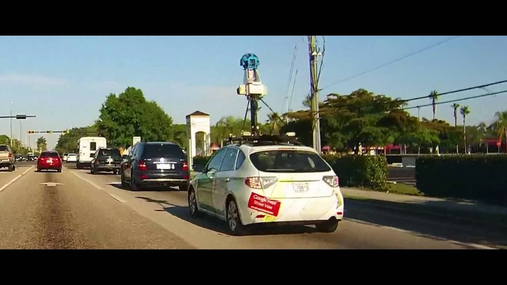 Google Maps Street View Car - Fort Myers, Florida - Youtube - Street Map Of Fort Myers Florida