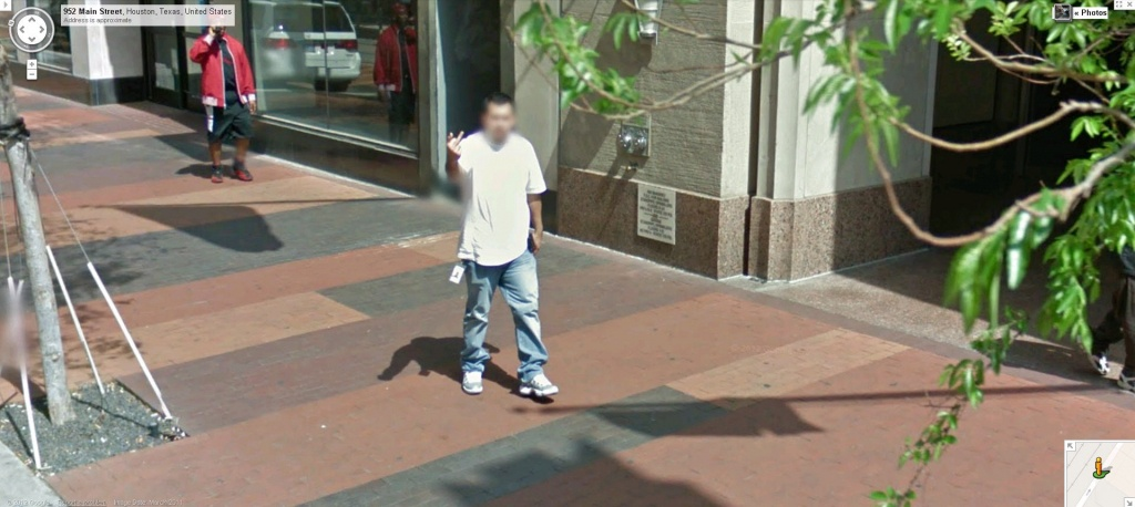 Google Maps Street View Houston Captures A Bird Of A Different - Google Maps Street View Houston Texas