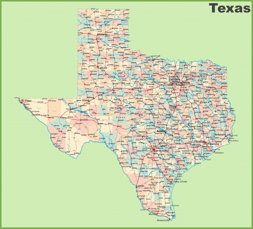 Google Maps Texas Cities Road Map Of Texas With Cities – Secretmuseum - Google Earth Texas Map