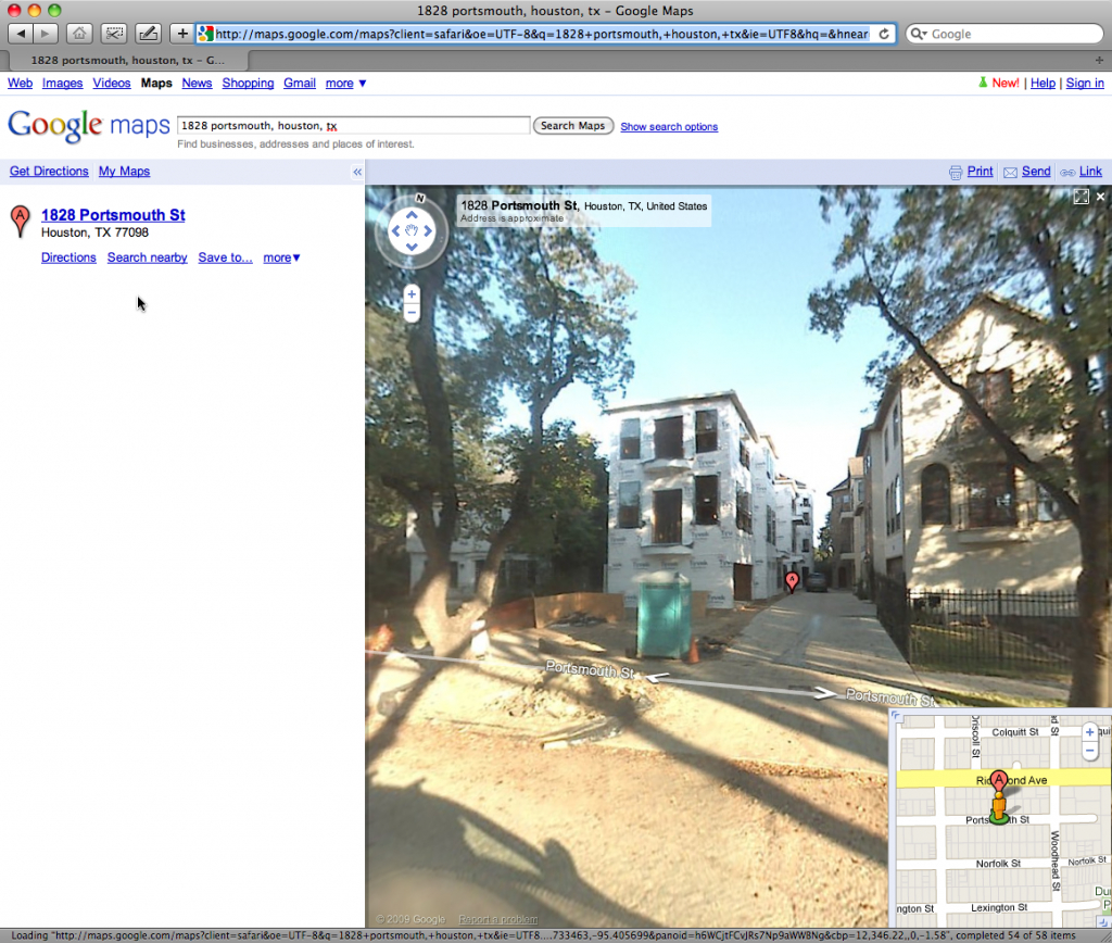 Google Street View — Richwood Place | Richwood Place - Houston Texas - Google Maps Street View Houston Texas