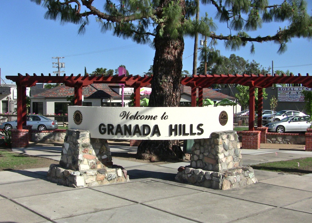 Granada Hills, Los Angeles - Wikipedia - Granada Hills California Map