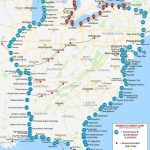Great Loop Route Distance   Intracoastal Waterway Florida Map